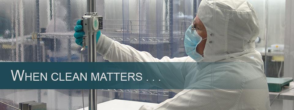 Main - Slideshow - When Clean Matters - 960 X 360